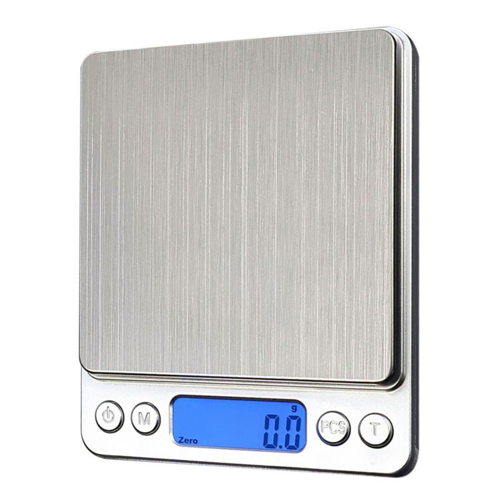 1000g/0.1g LCD Numérique Balance De Cuisine Électronique échelle Échelles de Bijoux de Pesage de Précision En Acier Inoxydable Dispositif avec Rétro-Éclairage
