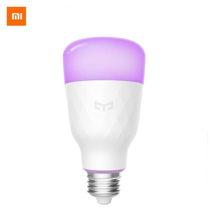 (Update version) Xiaomi Yeelight Smart LED Bulb Colorful 800 Lumens 10W E27 Lemon Smart Lamp For Mi Home App White/RGB Option