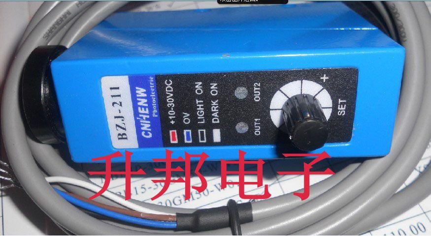 Photoelectric switch, color code sensor BZJ-211