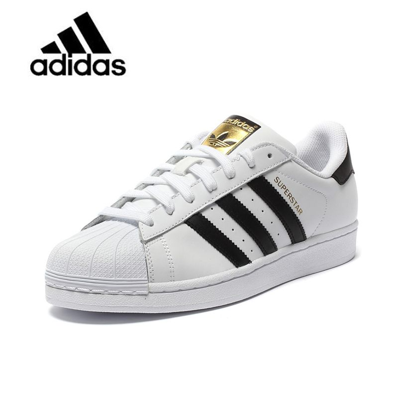Original New Arrival Official Adidas Clover SUPERSTAR Women's And Men's Skateboarding Shoes Sport Outdoor Sneakers Good Quality