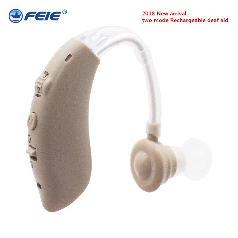 Deaf USB Hearing Aid Rechargeable Ear S-25 Mini Listening Equipment Apparatus for Elderly Headset Free Shipping