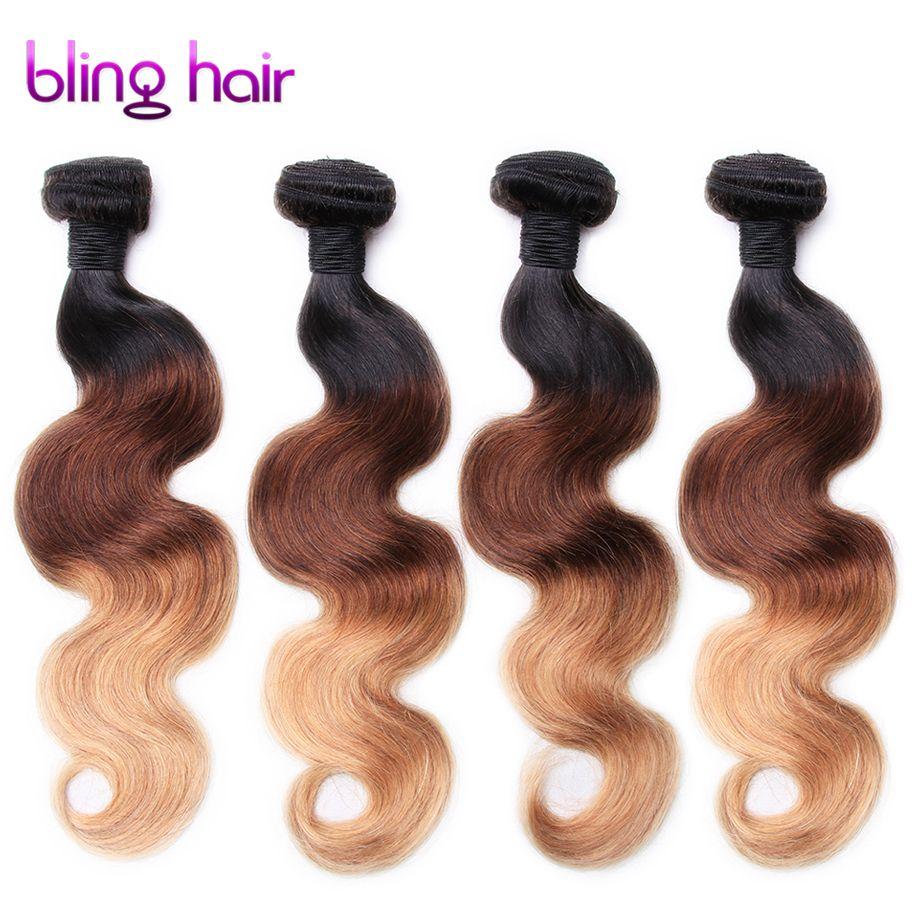 Pelo virginal peruano 1b-4-27 nuevo cabelo humano Cuerpo onda 4 bundles Remy Cabello humano 12-24 pulgadas para peluquería extensiones