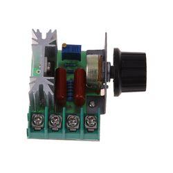 2000 Вт AC 50-250 В 25A Регулируемый регулятор скорости двигателя регулятор напряжения освещение диммер для освещения диммер небольшой скорости д...