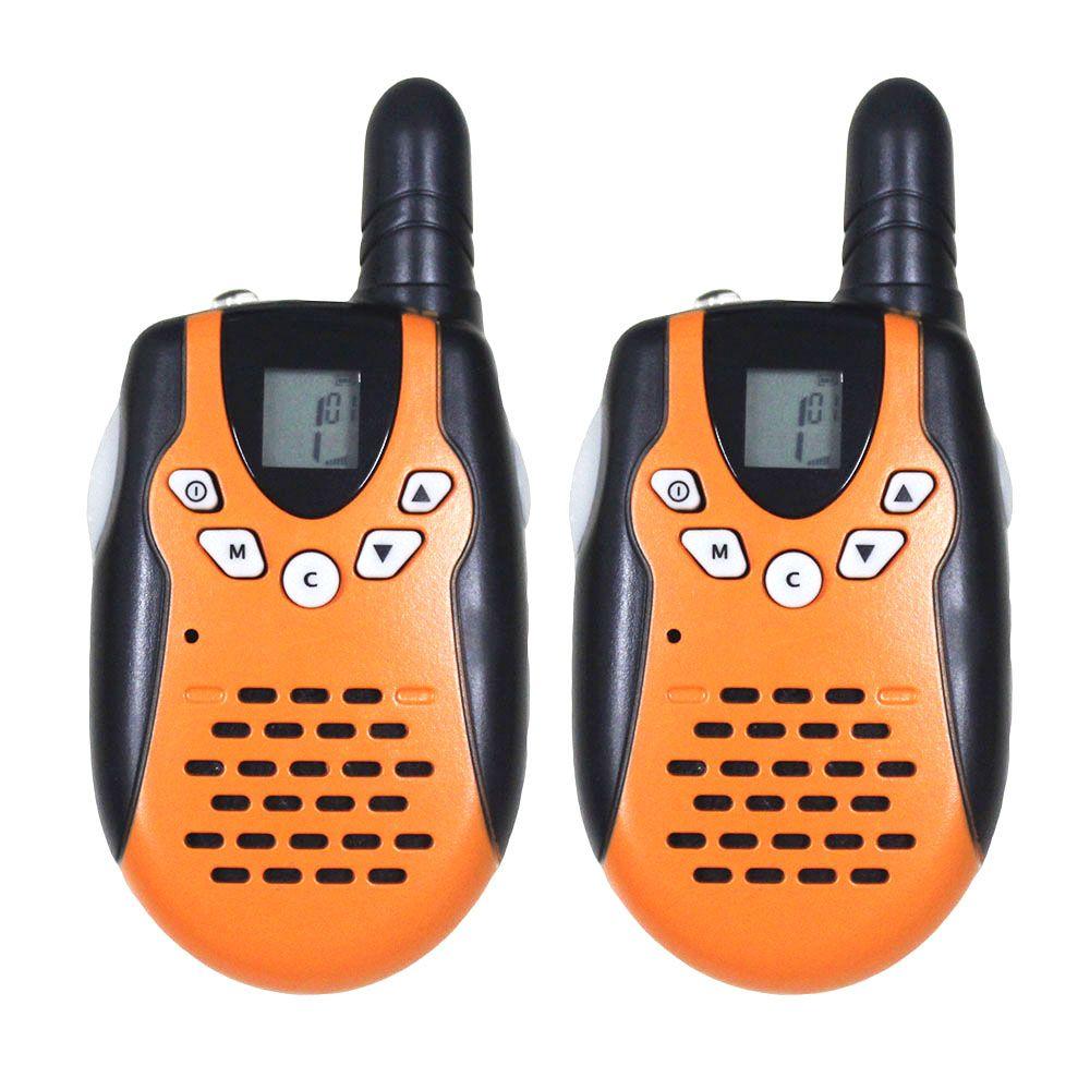 2pc mini M602 twintalker FRS GMRS handheld transceiver amateur radio de 2 VIAS duo talkie walkies w/ LED flashlight Topsung