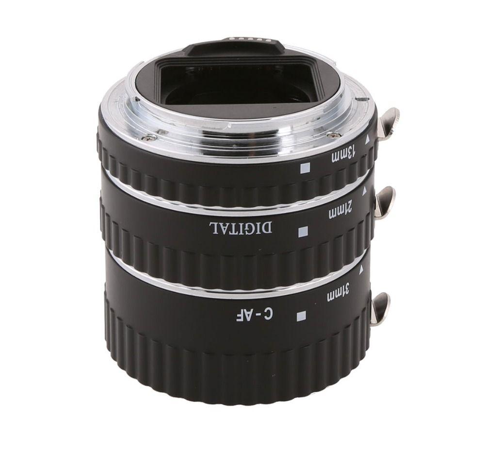 MEKE Meike MK-C-AF1-A Metal Autofocus AF Confirm Macro Extension Tube for Canon EOS For 550D 1100D 450D 50D 650D 700D 100D 70D
