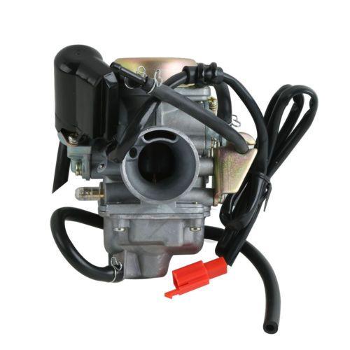 Motorcycle Alloy Carburetor Fuel Carb For GY6 125cc 150cc 4 stroke Engine Scooters ATVs Gokart Roketa Taotao Sunl Tank