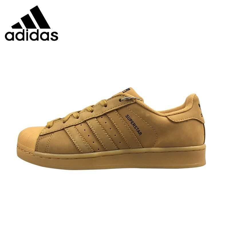 ADIDAS Superstar Original Mens & Womens Skateboard Schuhe Unisex Breathable Freizeit Schuhe Superleichte Sneakers