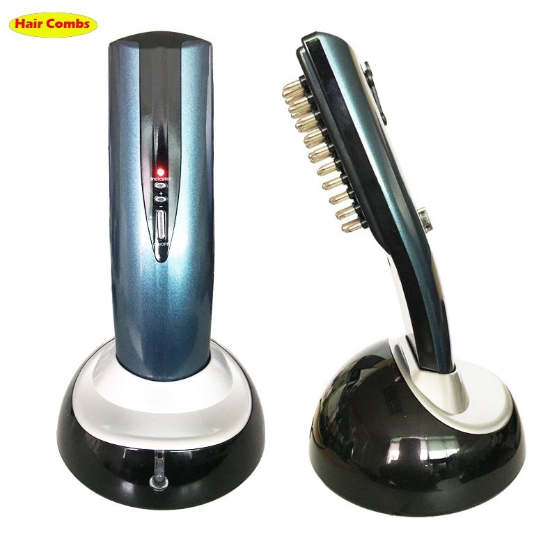 Head massager massage brush Comb Restoration Kit Hair growth Care Treatment Laser Grow Hair massage comb with packing 110V 220V