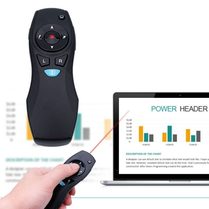 Wireless PPT Presentation Remote Control Air Mouse Laser Presenter Pointer Pen hot sem fio ppt apresenta o apresentador ponteiro