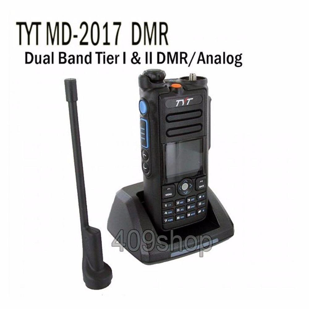 TYT MD-2017 Dual Band DMR/Analog 144/430 Radio