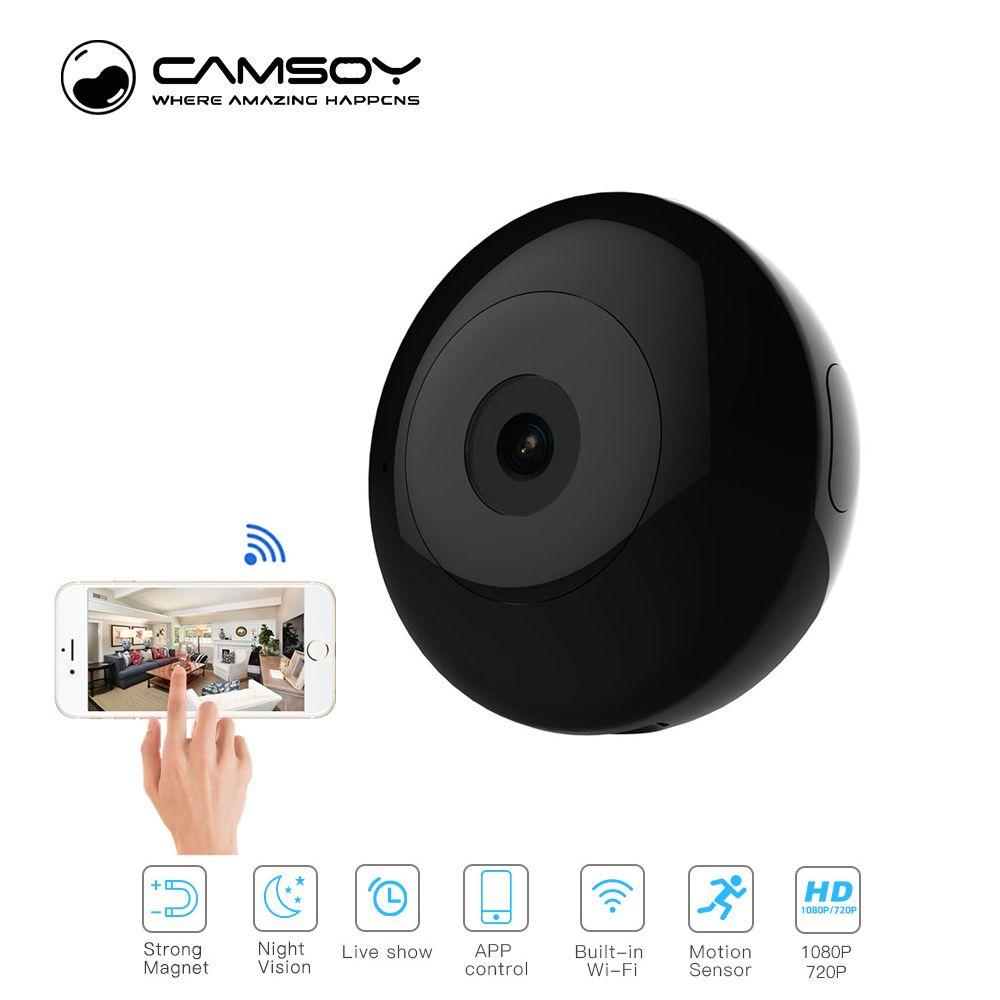 Camsoy Cookycam C2 Mini Caméra 720 p Vision Nocturne HD Caméscope IP P2P WiFi Caméra Vidéo Enregistreur Pour L'extérieur C1 camera Action