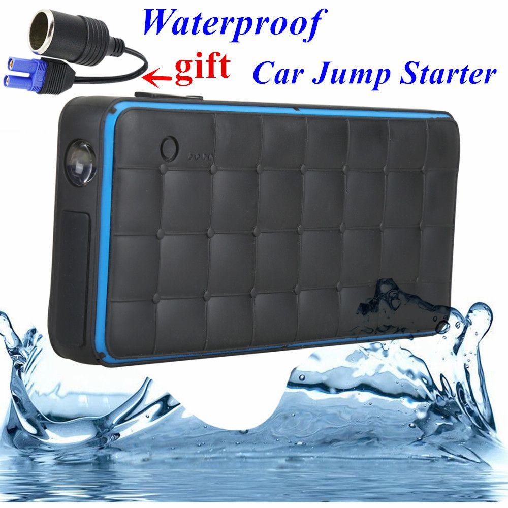 Waterproof 1000A Peak Car Jump Starter Portable 28000mAh Starting Device Lighter Power Bank 12V Car Charger For Car Battery CE