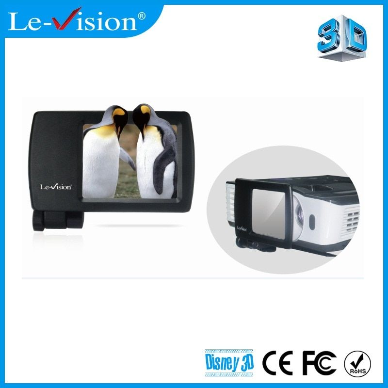 2016 Le-Vision Mini Polarizer 3D Modulator for Home Cinema System/ DLP Projector/ Home Theater/ FPR TV