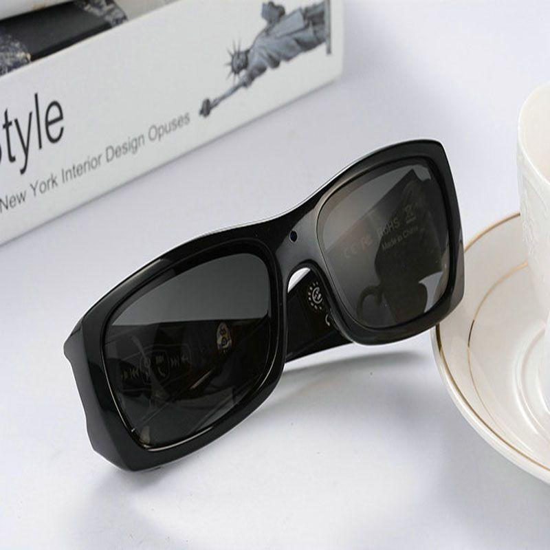 Mode Version Améliorée DV lunettes de soleil intelligentes Bluetooth casque stéréo polaried Sport Caméra Vidéo Numérique HD Caméra lunettes de soleil