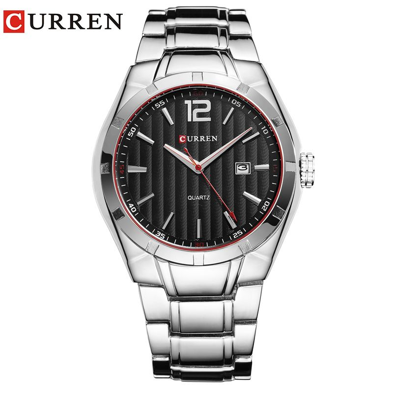CURREN 8103 Luxury Brand <font><b>Analog</b></font> Display Date Men's Quartz Watch Casual Watch Men Watches relogio masculino