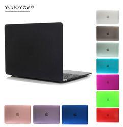 YCJOYZW Mallette Pour Ordinateur Portable Pour Apple MacBook Air Pro Retina 11 12 13 15 pour mac book 2016 2017 Nouveau Pro 13 15 pouce avec Tactile Bar