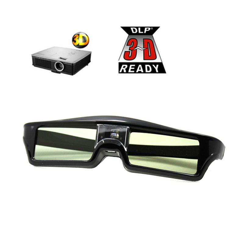 3D DLP-link активные очки Очки для BENQ Z4/H1/G1/P1 LG, орехи, acer, Optoma DLP-Link Проекторы