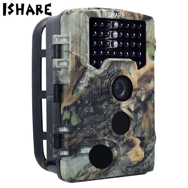 ISHARE H881 HD Waterproof Detection Hunting Camera Infrared Surveillance Cameras Outdoor Photo Trap Trail Camera