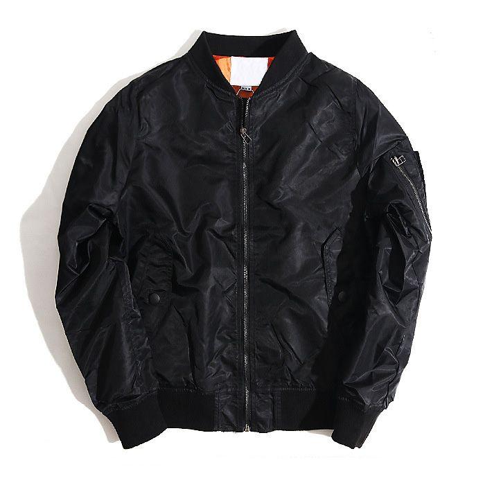 Fashion brand 2018 autumn and winter MA 1 pilot jacket men and women