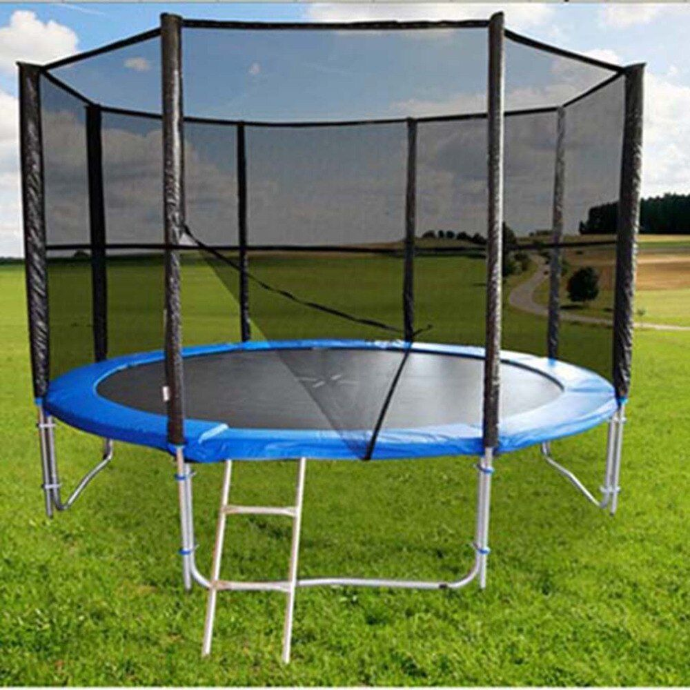 Trampoline Replacement Safety Net Enclosure Surround Outdoor For 6ft 8ft 10ft 12ft 13ft 14ft Circular Trampoline