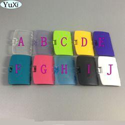 YuXi Pour Gameboy Color GBC Batterie De Remplacement Couverture GBC Couverture Jaune Violet Clair Vert