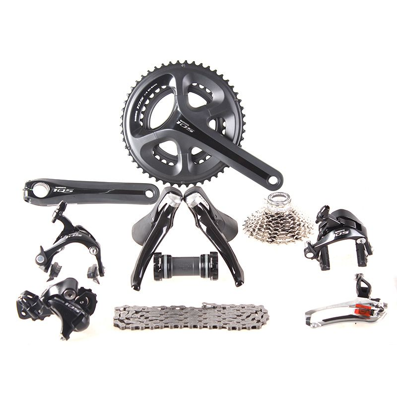Shimano 105 5800 Groupset 2x11S 22S Speed 50/34 53/39 170mm 172.5mm Kit for Road Bike Bicycle