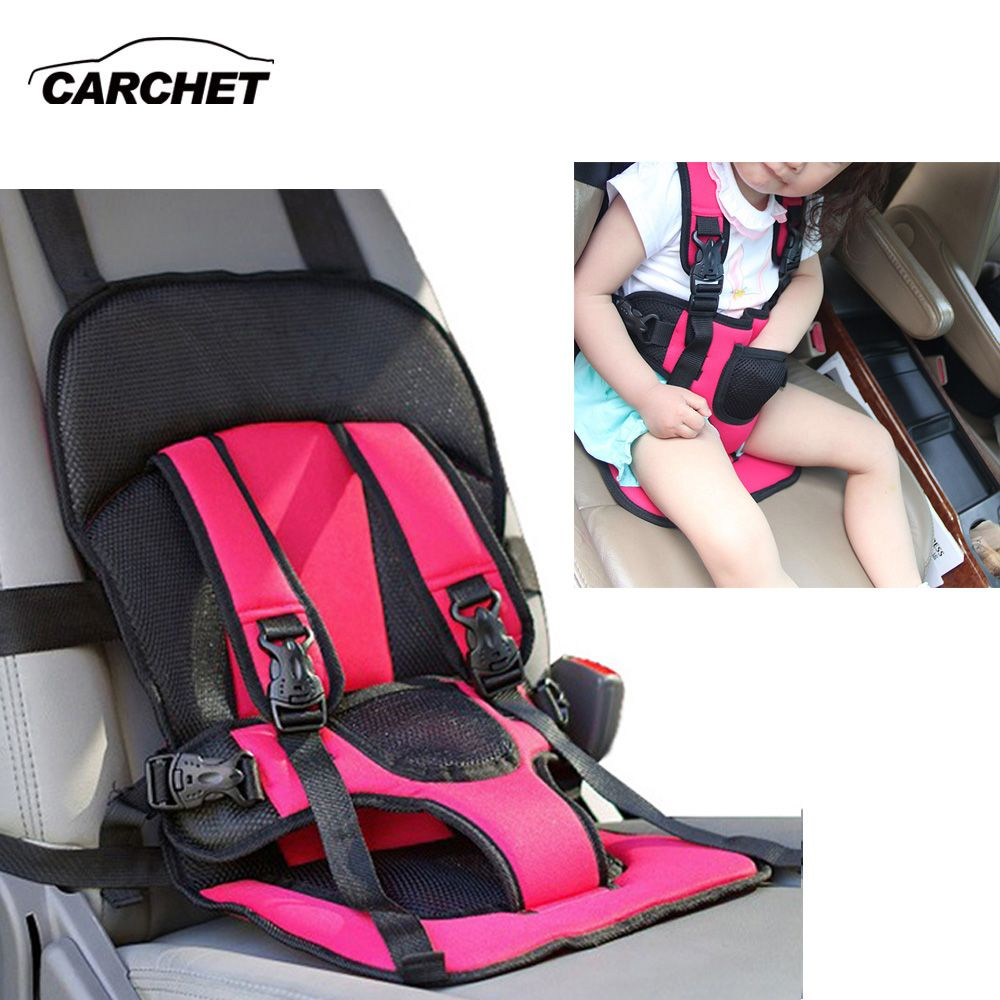CARCHET Kids Baby Car Safety Seat Cover Strap Adjuster Pad Harness Children Seat Belt Clip Child Protector Car Seat Cover