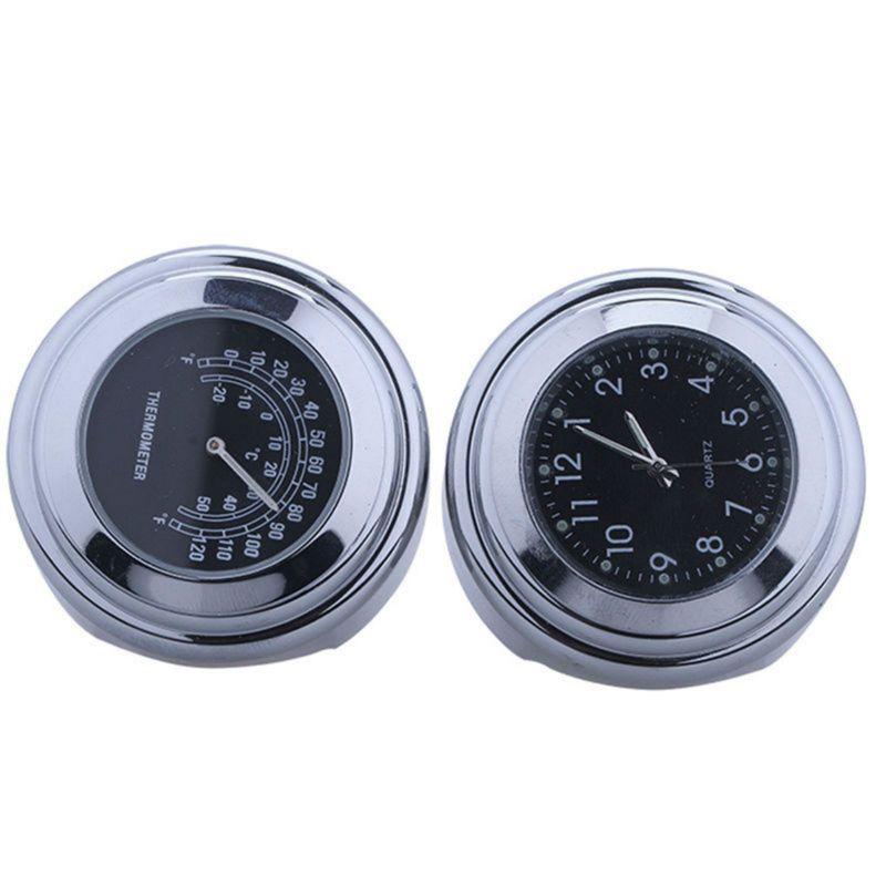 Universal Waterproof 7/8 Motorcycle Bike Handlebar Mount Clock Watch SV