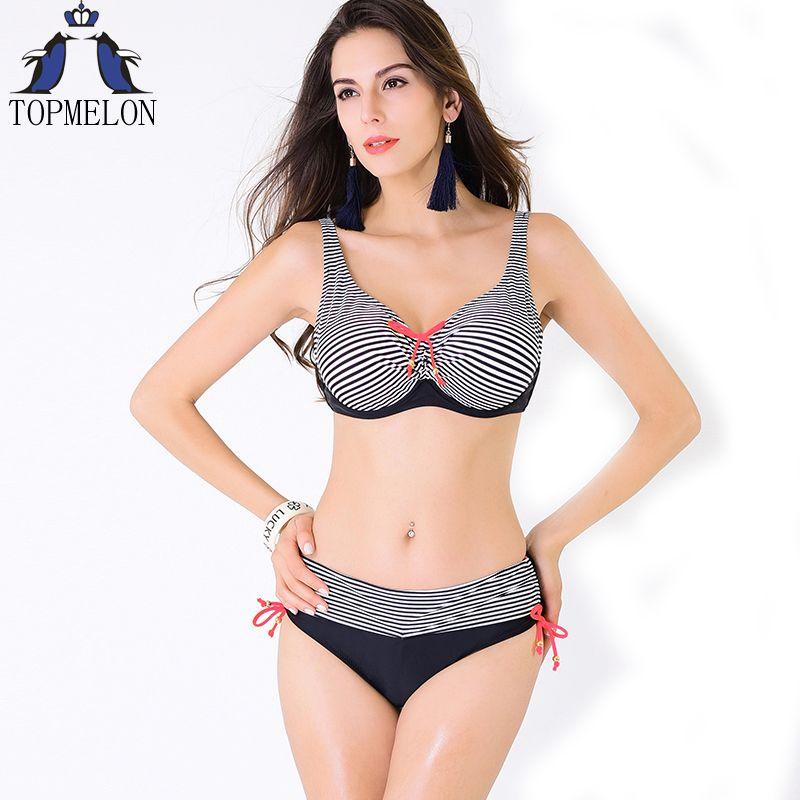 Plus size bademode Push-Up Badeanzug badeanzug frauen Bademode bikini 2016 bikini set Large Size Bademode badeanzug