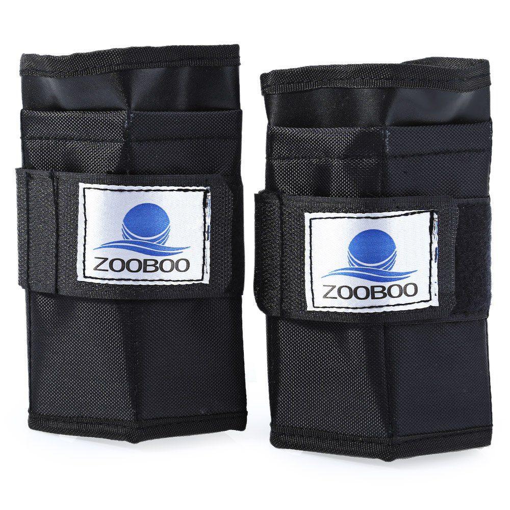 Zooboo 2pcs 5kg Adjustable Tying Hand Wrap Wrist Weight Exercise Fitness Boxing Training Equipment