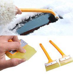 Автомобильный автомобиль скребок для снега и льда SnoBroom зимняя щетка Лопата удаление Снежная щетка автомобильный тюнинг оптом