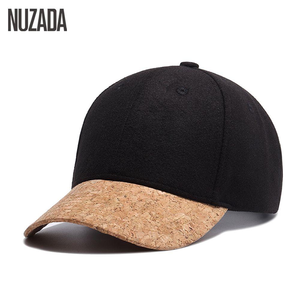 Marque NUZADA haute qualité Snapback laine 54% femmes hommes casquette de Baseball os loisirs chapeaux Hip Hop printemps été automne hiver casquettes