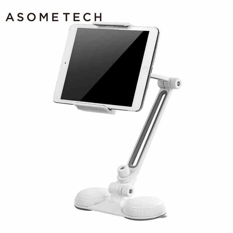 4-10 ''Universal Starken Saugnapf Halterung Halterung Unterstützung Für Ipad 2 Air 1 2 Mini 1 4 aluminiumlegierung 360 Dreh Tablet stehen
