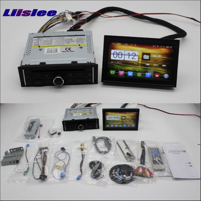 Liislee Car Android Multimedia For Mitsubishi L200 2008~2013 Radio Stereo CD DVD Player GPS Navi Navigation Audio Video System