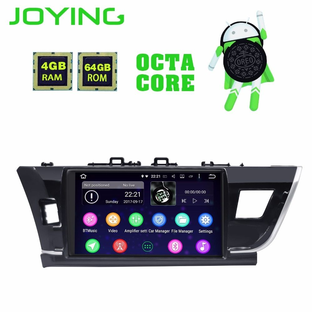 Joying Android 8.1 für toyota corolla 2014-2016 10,1