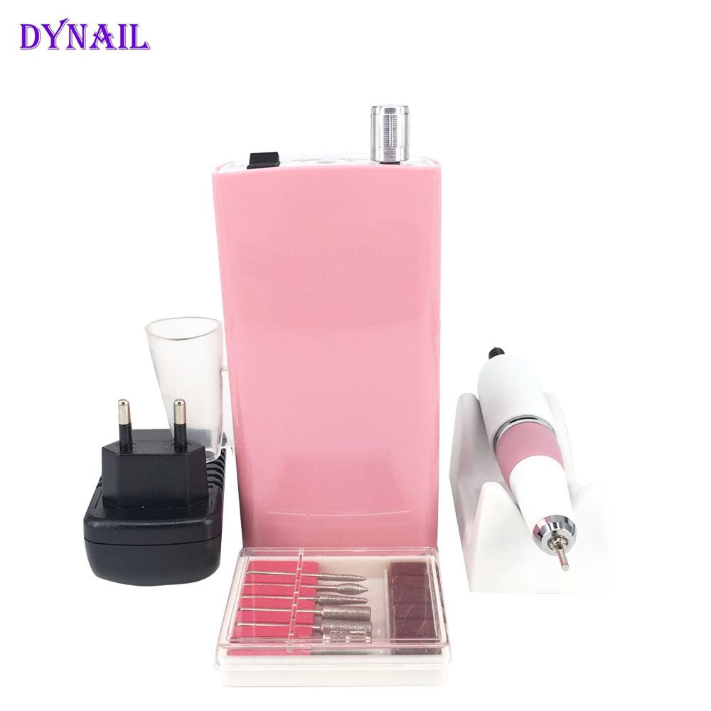 Hot selling High Quality Low Noise Rechargeable Cordless Nail Drill with 30000RPM for Nail Art Tools