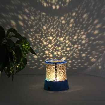 AC100-240V Cosmos Star Night Light Projector Romantic LED Starry Night Sky Projector Lamp Home Atmosphere Light Laser Star Lamp