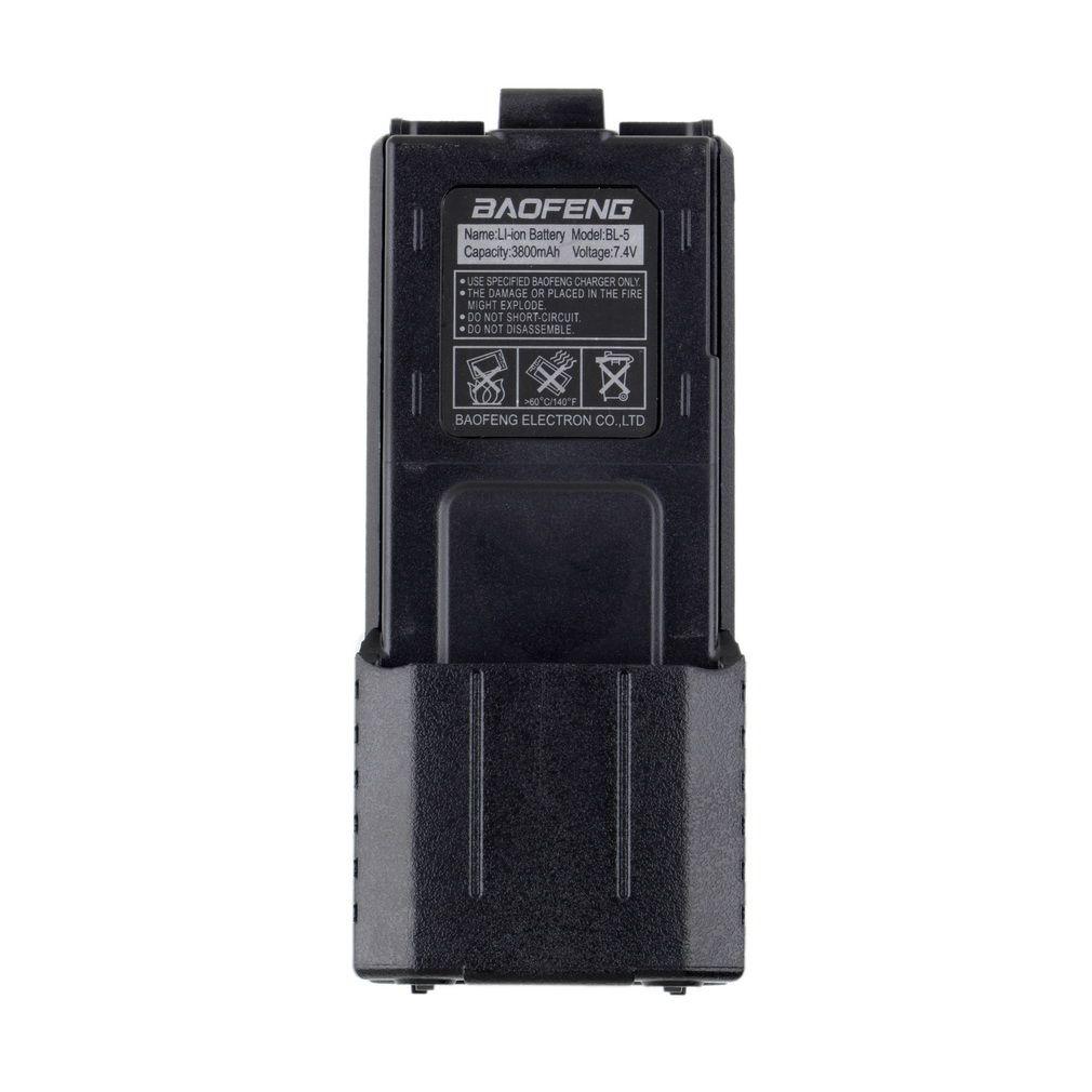 Оригинал Baofeng UV-5R Двухканальные рации Батарея 7.4 В 3800 мАч ham Радио Батарея для Baofeng UV5R УФ 5R Интимные аксессуары