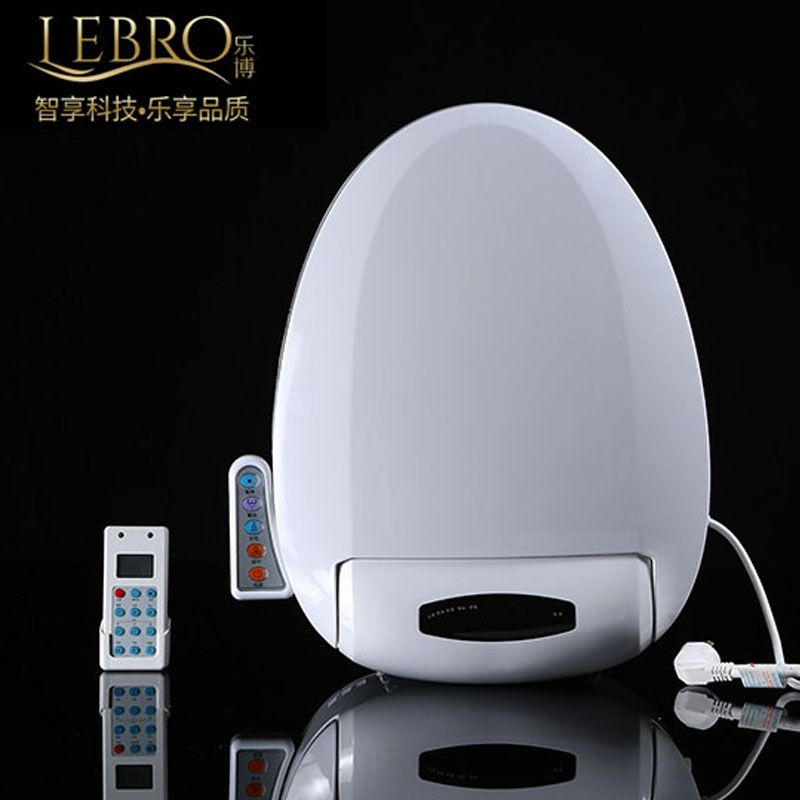 Smart Heated Toilet Seat Remote Control Intelligent Bidet Toilet Seat WC Sitz Automatic Toilet Lid Cover Female Buttocks Washing