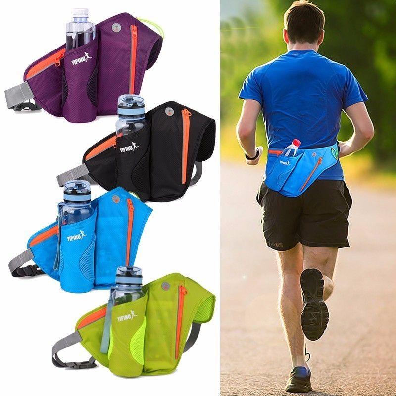 Sacs de taille en cours d'exécution Fanny femmes Pack pochette ceinture hommes sac à main téléphone portable poche étui Camping randonnée sport offre spéciale bouteille d'eau