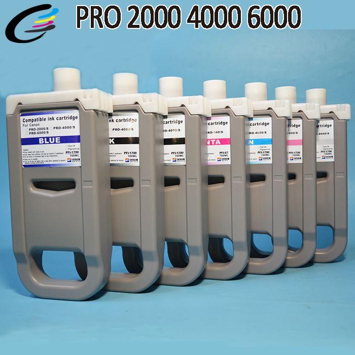 PFI1700 cartridge for Canon PRO 4000s 6000s Printer