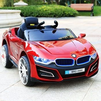 Children's electric car four-wheeled child toy car can take people with swing baby remote control car baby stroller