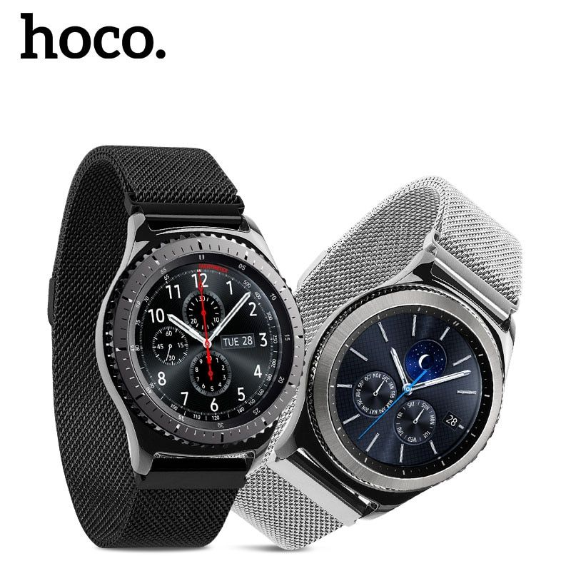 HOCO Milanese Loop Band For Gear Samsung Galaxy S3 Frontier Magnetic Clasp Watch Band For Gear S3 Classic Stainless Steel Strap