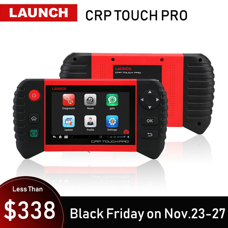 LAUNCH Creader CRP Touch Pro Car Diagnostic Tool All System Diagnostics Scan Tools Autoscanner Auto Scanner Oil Reset EPB DPF