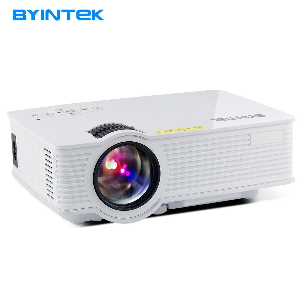 BYINTEK SKY BT140 Mini Micro LED Cinema Portable Video HD USB HDMI Projector for Home Theater (Optional Plus/Android Version)