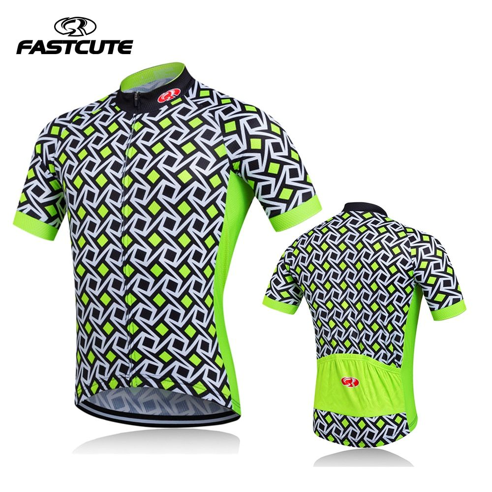 Bike team 2016 Women/Man Cycling jersey tops/short sleeve bike clothing summer style/<font><b>Bicycle</b></font> Clothes Yellow/Green/Yellow/Red