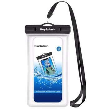Floating Waterproof Phone Case,Universal Underwater TPU Cellphone Dry Bag Pouch for iPhone X/8 Plus/8/7/6, Samsung Note 8/S8+/S8