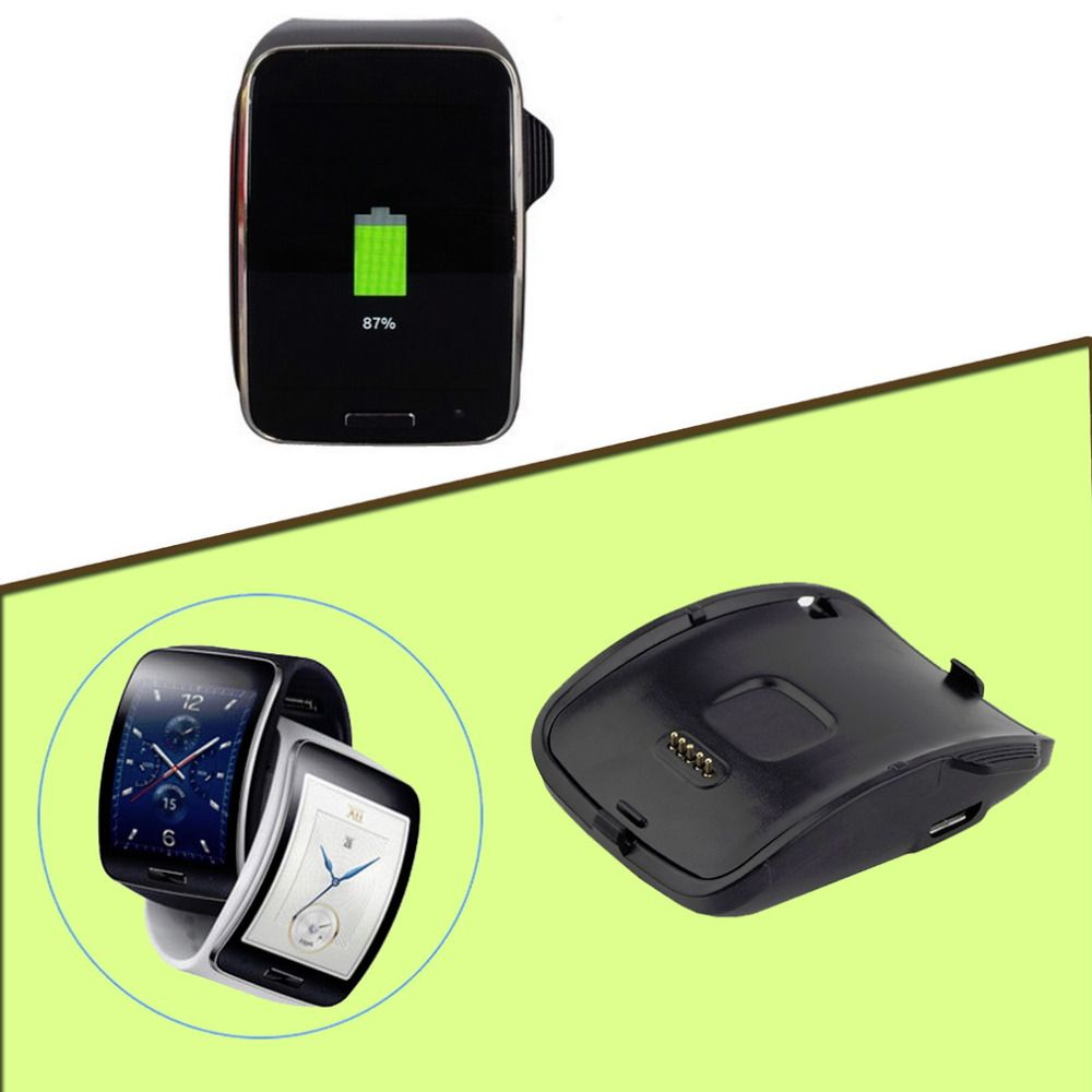 1pcs Charging Dock Charger Cradle For Samsung Galaxy Gear S Smart Watch SM-R750 Hot Worlwide Drop Shipping