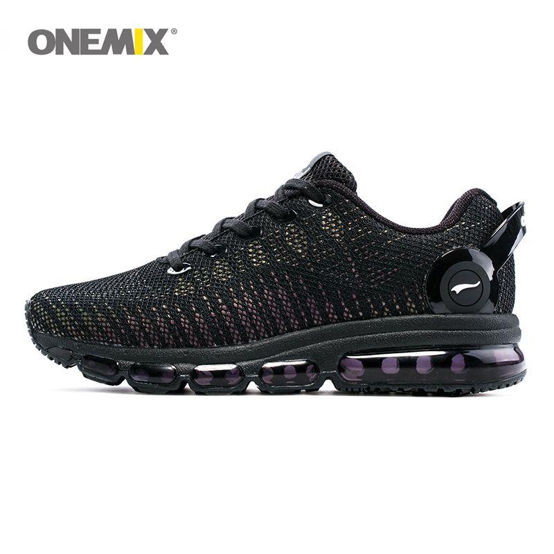 ONEMIX chaussures de course pour hommes et femmes baskets légères et respirantes pour le Sport de plein Air et coussin d'air Jogging SizeEU35-46