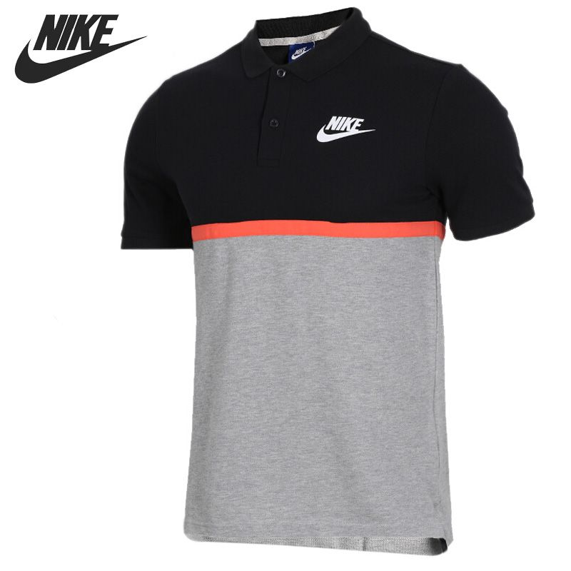 Original New Arrival 2018 NIKE AS M NSW POLO MATCHUP PQ NVLTY Men's T-shirts short sleeve Sportswear